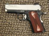 SIG SAUER 1911 ULTRA COMPACT .45 ACP TWO-TONE PISTOL - 1 of 3