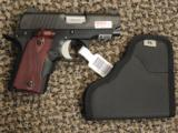 KIMBER MICRO CARRY .380 ACP WITH ROSEWOOD CRIMSON TRACE LASER - 3 of 4