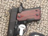 KIMBER MICRO CARRY .380 ACP WITH ROSEWOOD CRIMSON TRACE LASER - 2 of 4