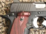 KIMBER MICRO CARRY .380 ACP WITH ROSEWOOD CRIMSON TRACE LASER - 4 of 4