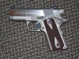 COLT STAINLESS DEFENDER .45 ACP PISTOL WITH THIN-TECH GRIPS