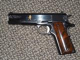 "REMINGTON 1911 R1 ENGRAVED ""200TH ANNIVERSARY"" .45 ACP PISTOL"