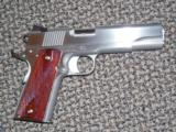 "DAN WESSON 1911 STAINLESS STEEL""RAZORBACK 10 MM PISTOL!"
