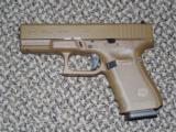 GLOCK MODEL 19 IN ALL FDE FINISH 9 MM 4TH GENERATION -- REDUCED!