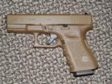GLOCK 3RD GENERATION MODEL 19 IN ALL FDE 9 MM PISTOL