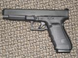 "GLOCK MODEL 40 LONG-SLIDE .45 ACP PISTOL WITH ""MOS"" CUT"