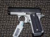 """KIMBER MICRO CARRY .380 """"ADVOCATE"""" PISTOL WITH NIGHT-SIGHTS"""
