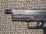 SIG SAUER MODEL 320 TACOPS 9 MM PISTOL WITH FOUR 20-ROUND MAGS AND THREADED BARREL - 2 of 7