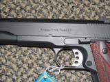 ED BROWN EXECUTIVE TARGET .45 ACP PISTOL