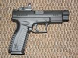 SPRINGFIELD ARMORY XDM OSP (OPTICAL SIGHT PISTOL) 9 MM WITH VORTEX VENOM SIGHT AND 18-ROUND MAGS - 5 of 6