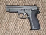 SIG SAUER MODEL P-226 PISTOL IN 9 MM