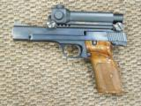 S&W MODEL 41 TARGET .22 LR PISTOL WITH AIMPOINT SIGHT