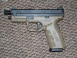 SP{RINGFIELD ARMORY XD-9 MOD 2 PISTOL 4-INCH 9MM IN FDE WITH THREADED BARREL