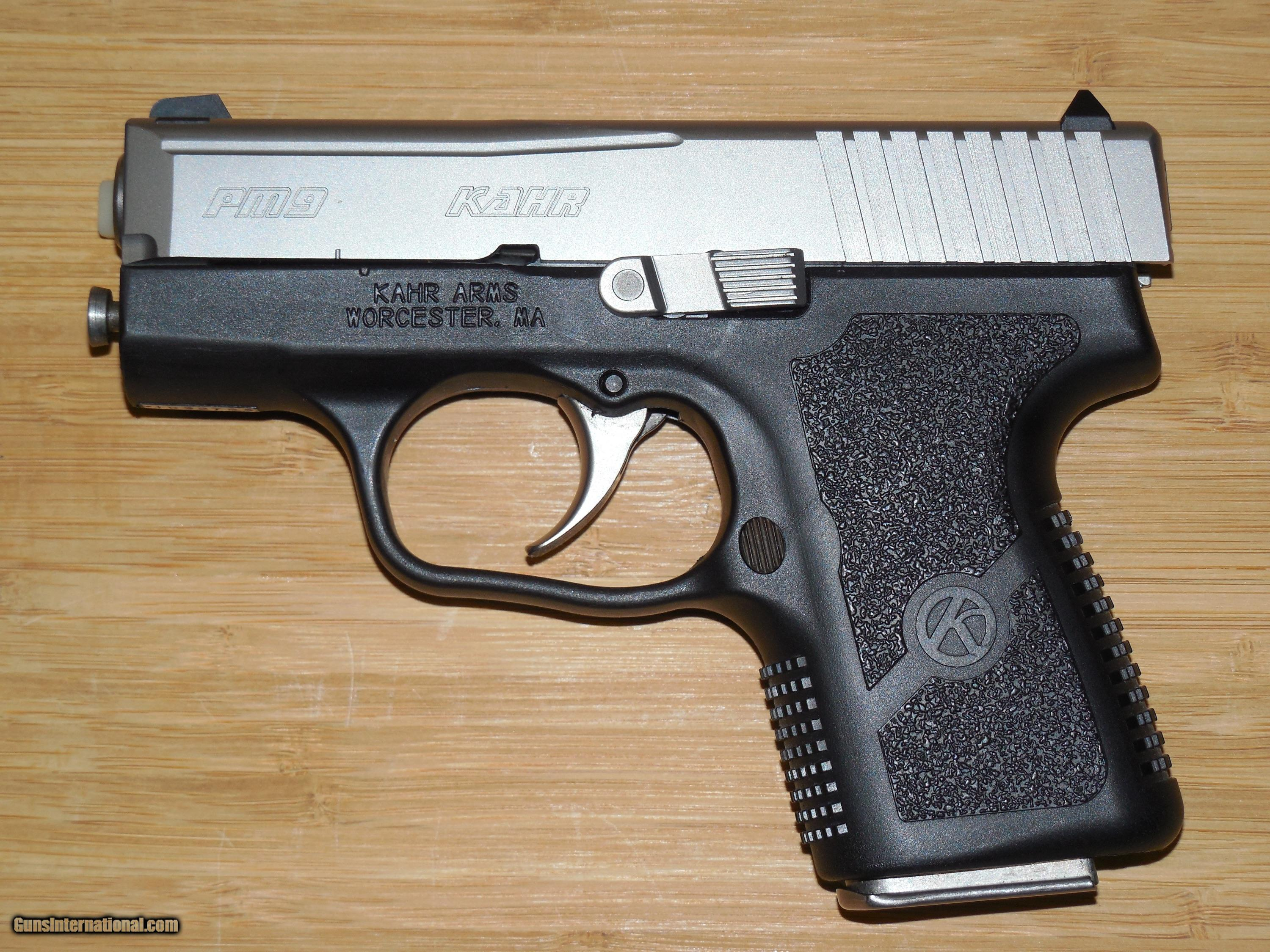 KAHR ARMS PM-9 SUB-COMPACT HIGH-GRADE 9 MM PISTOL