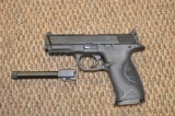 S&W M&P-9 PERFORMANCE CENTER 9 MM PORTED WITH TWO BARRELS, ETC -- REDUCED!!!
