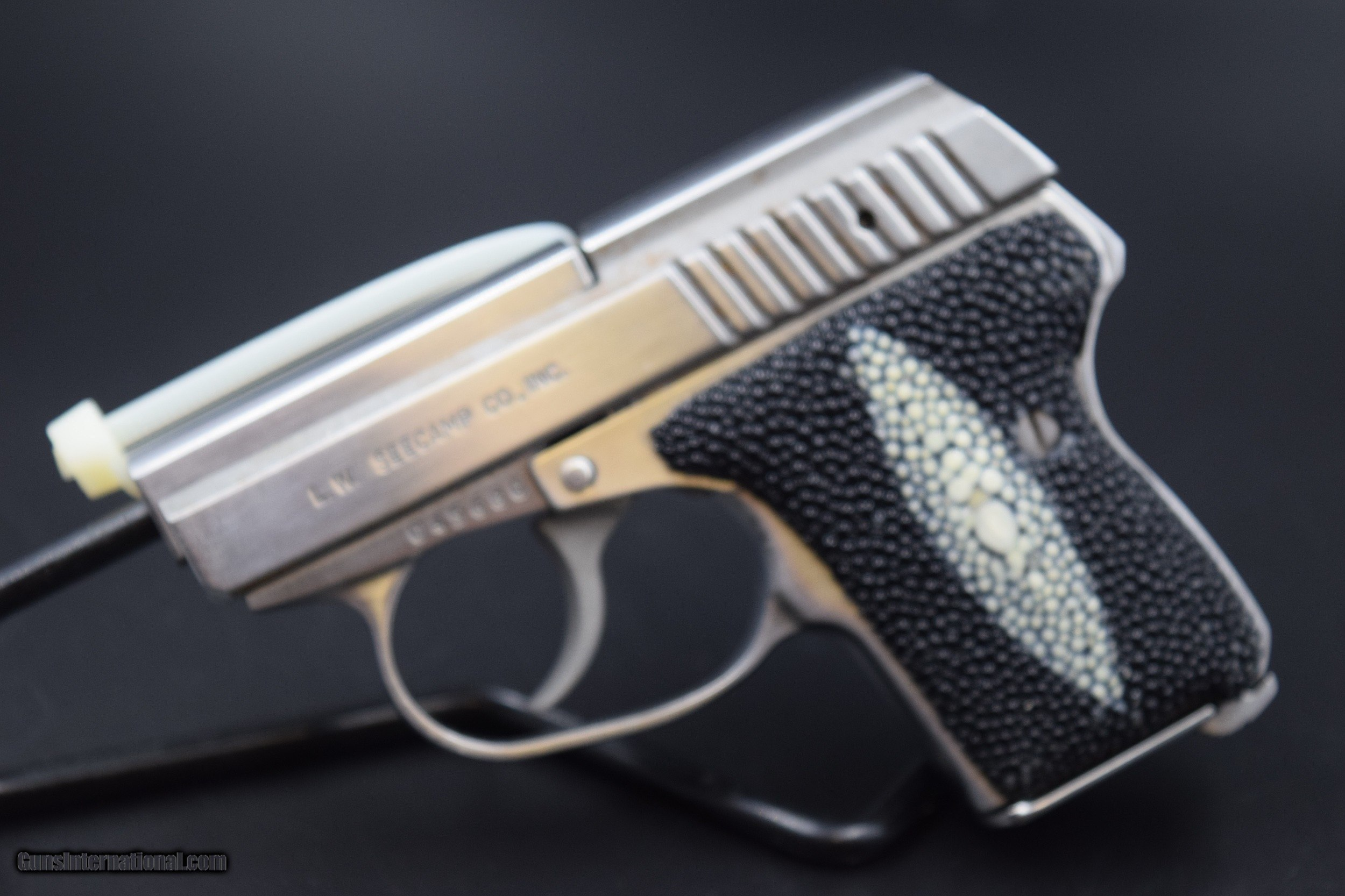 SEECAMP LWS-32 PISTOL WITH TWO MAGS