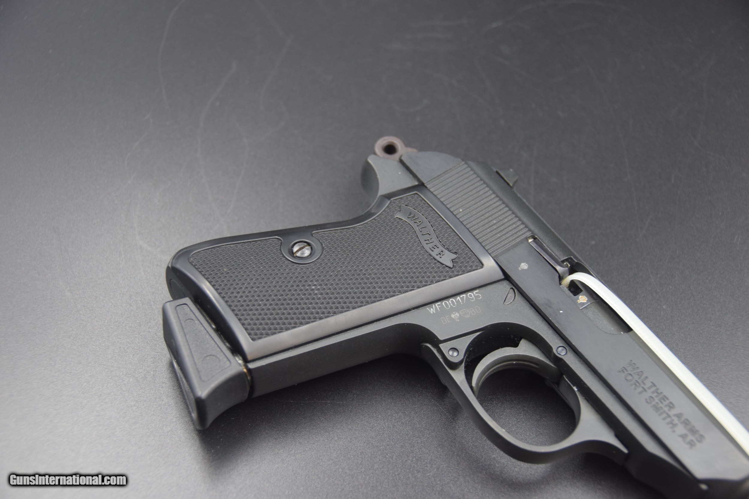 WALTHER PPK/S IN  22 LR WITH THREADED BARREL for sale