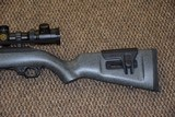 RUGER 10/22 CUSTOM SHOP COMPETITION .22 LR RIFLE WITH HEAVY FLUTED THREADED BARREL, SCOPED!!! - 8 of 8