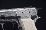 ENGRAVED BROWNING HI-POWER 9 MM PISTOL - 4 of 12