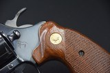 COLT DIAMONDBACK FOUR-INCH .38 SPECIAL BLUED - 4 of 11