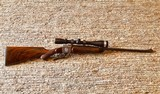 Exquisite Hagn Small Frame Falling Block Rifle in .223R