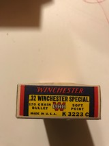Winchester Super Speed .32 Win. Special (Full Box) - 3 of 4