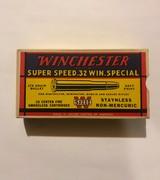 Winchester Super Speed .32 Win. Special (Full Box)