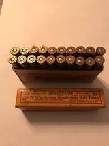 Winchester .38-72 Smokeless Soft Point Antique ammo (Full Box) - 4 of 5