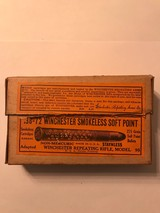 Winchester .38-72 Smokeless Soft Point Antique ammo (Full Box) - 1 of 5