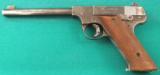 High Standard Type A 22 pistol - 1 of 1