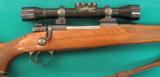FN action 300 Weatherby with 2-7X Weatherby scope, very early - 1 of 1