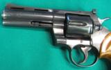 Colt Python, Blue, with four inch barrel - 4 of 6
