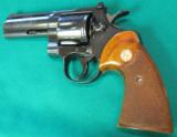 Colt Python, Blue, with four inch barrel - 3 of 6