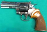 Colt Python, Blue, with four inch barrel - 2 of 6
