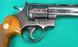 Colt Python, Blue, with four inch barrel - 5 of 6