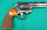 Colt Python, Blue, with four inch barrel - 1 of 6