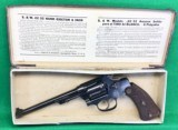 "Neat mint S&W 22/32 Target, also known as ""Bekaert"" model"
