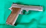 Swiss made Sig 210-6 in rare factory Silver (Nickel) finish