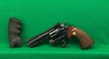 Early 4 inch Colt Python, 1961 vintage.