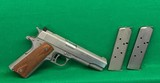AMT Hardballer, 45 ACP as new in box, two clips