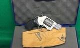 Super light weight S&W 337, titanium cylinder 5 shot revolver. - 1 of 4
