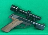High Standard 22 LR Sharp Shooter with scope. - 2 of 2