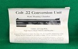 Very early Colt .22-45 Conversion Unit - 14 of 17