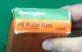 Remington 45 AR (Auto Rim) brass for 45 ACP revolvers - 2 of 2