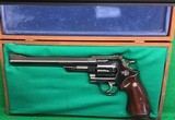 S&W 25-5 in 45 Colt, with mahogany box