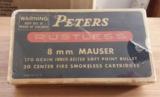 Peters Vintage8MM MAUSER