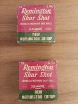 Remington Shur Shot .12 ga