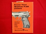Know Your Walther P.38 Pistols