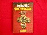 FORMAN'S Guide to Third Reich German Awards...And Their Values / 2nd Edition