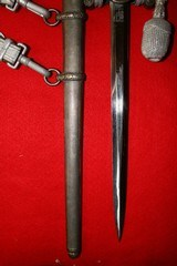Army Officers Dagger with Portepee & Hanger - 8 of 9